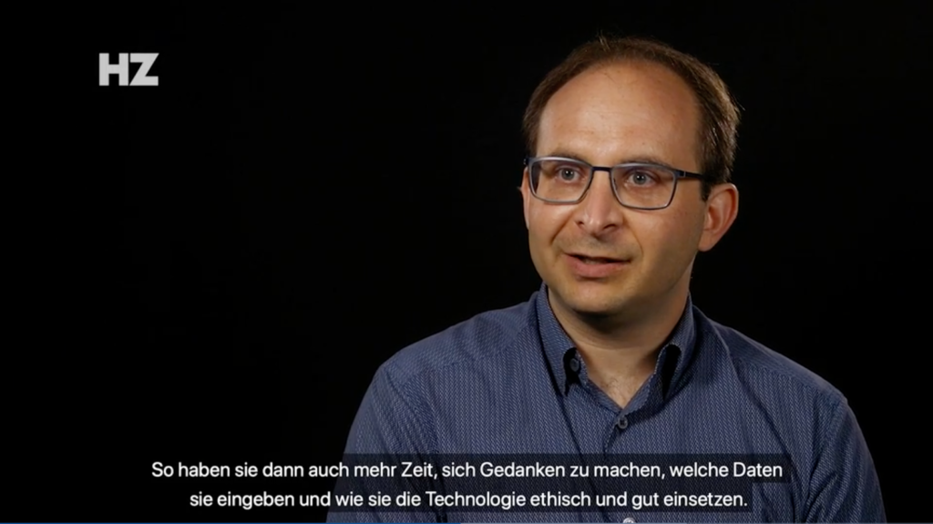 Modulos co-founder and CEO Kevin Schawinski in the Handelszeitung
