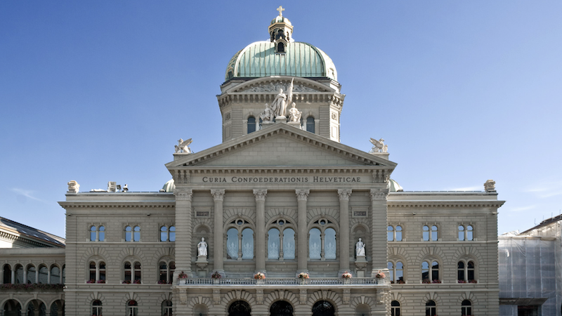 Bundeshaus - Swiss Government publishes AI Guidelines