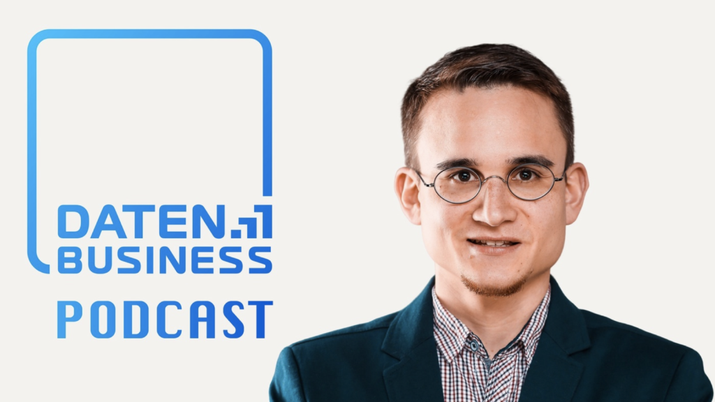 Modulos CEO Kevin Schawinski on the Datenbusiness Podcast
